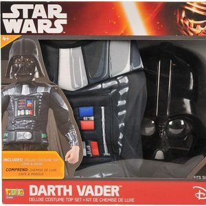 Darth Vader Chest and Mask Costume size 4-6